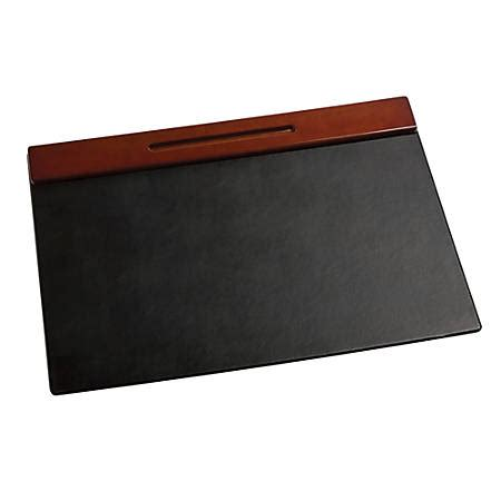 office depot desk pad rolodex wood tones desk pad 19 x 24 mahogany by office