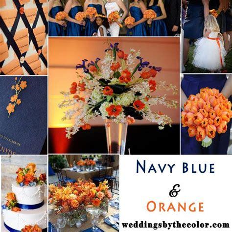 navy blue and orange wedding decorations navy blue and orange wedding inspiration board wedding