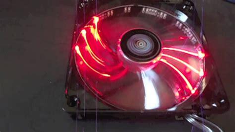 Aerocool Lightning 14cm Blue Led Fan enermax t b 120mm blue led fan unboxing review and install