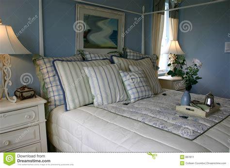 blaues schlafzimmer blaues schlafzimmer stockbild bild 867811