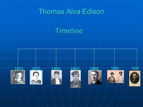 text biography thomas alva edison incorporation of graphic organizers ppt download