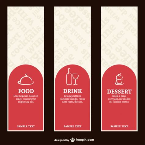 restaurant layout with labels restaurant menu labels vector free download