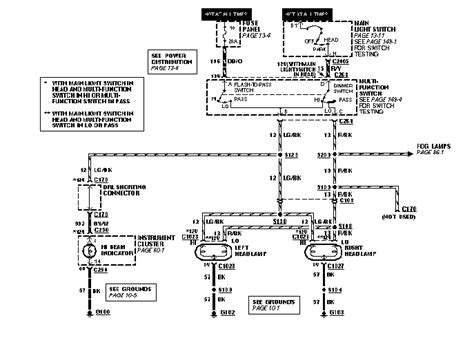 fox mustang turn signal switch wiring diagrams