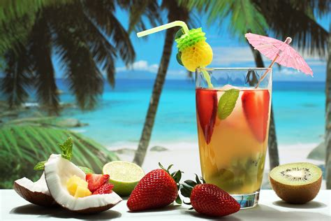 martini hawaiian tropical cocktail wallpapers pictures images