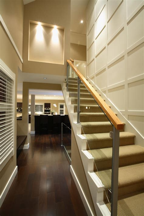 modern glass stair railing designs   alternatives