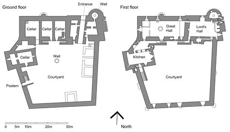 scottish castle floor plans file doune castle plan png wikimedia commons
