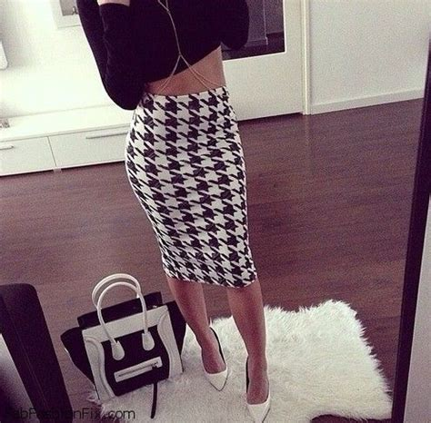Combine Skirt style guide how to wear pencil skirt this fab fashion fix