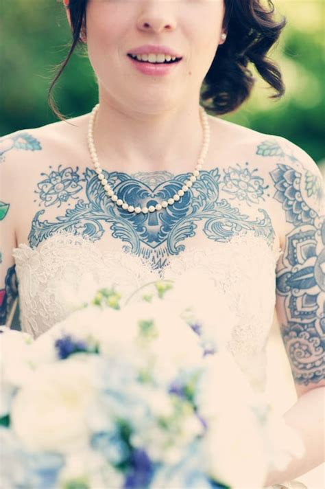 tattooed brides 1000 images about inked brides on wedding