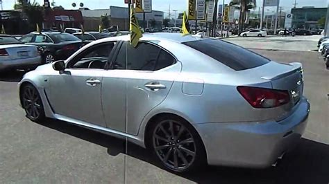 lexus sport sedan 2008 lexus is f sport sedan 4d los angeles ca 420490