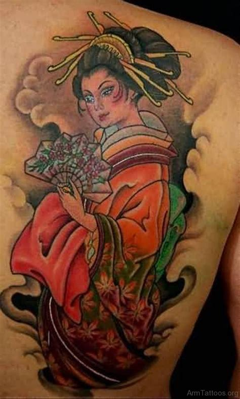 japanese geisha tattoo 52 mind blowing geisha tattoos for arm