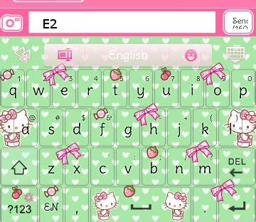 hello kitty themes keyboard pretty droid themes hello kitty strawberry go keyboard skins