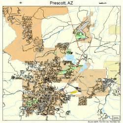 map of prescott arizona area prescott arizona map 0457380