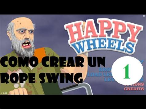 happy wheels rope swing game happy wheels como crear rope swing level editor parte 1