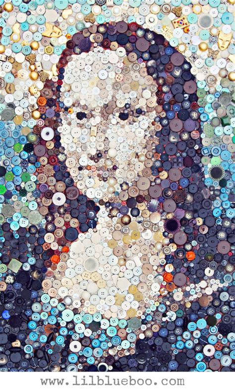 Recycled Home Decor Ideas by How To Make A Button Art Collage