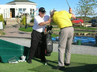 golf swing left shoulder under chin private golf lessons by a pga professional stressing the