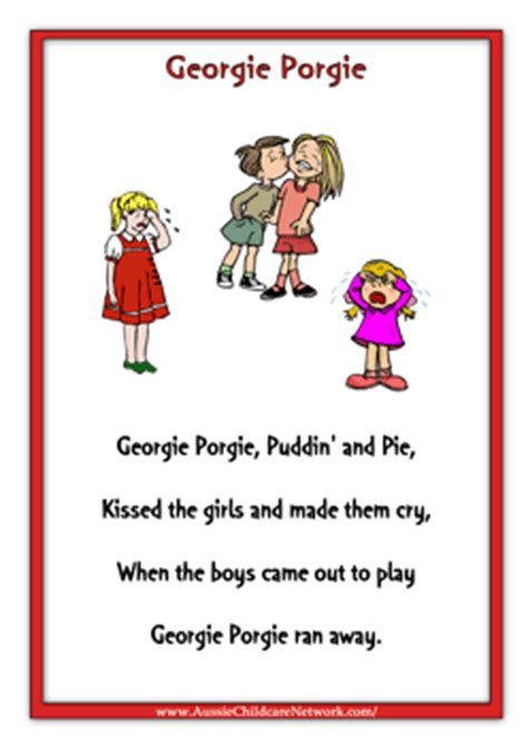 Free Printable Nursery Rhyme Posters Rhymes Posters Aussie Childcare Network