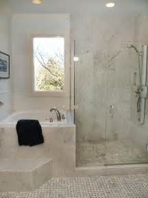 Corner Bathtub With Shower Combo by Corner Tub Shower Combo Bathroom Traditional With