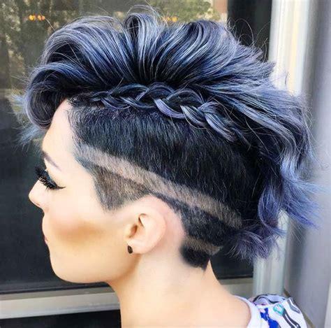 trendy undercut hairstyle ideas  women