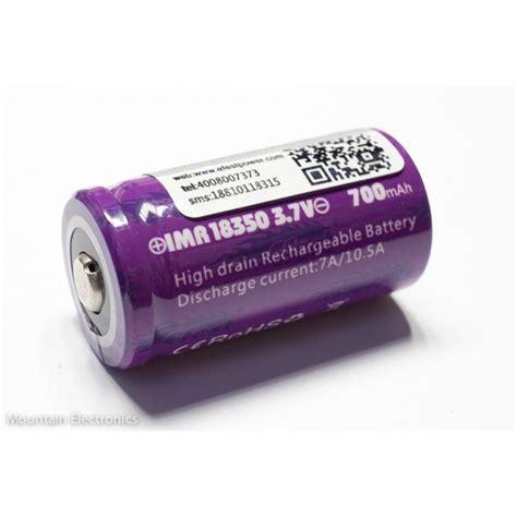 Efest Purple Imr 18350 Li Mn Battery 700mah 3 7v 10 5a efest purple imr 18350 700mah button top
