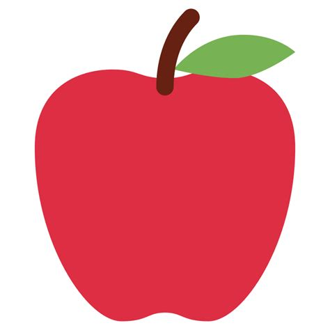 apple emoji file twemoji 1f34e svg wikimedia commons