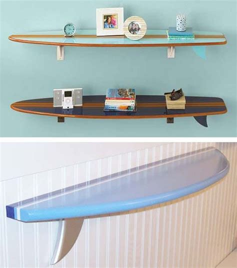 high low surf board shelves apartment therapy