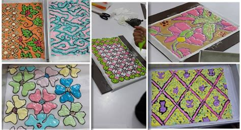 cara membuat kue bolu batik natural cooking club reportase kursus batik indonesia