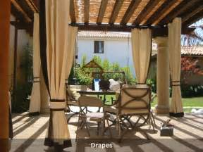 all weather outdoor patio curtains like this for the home