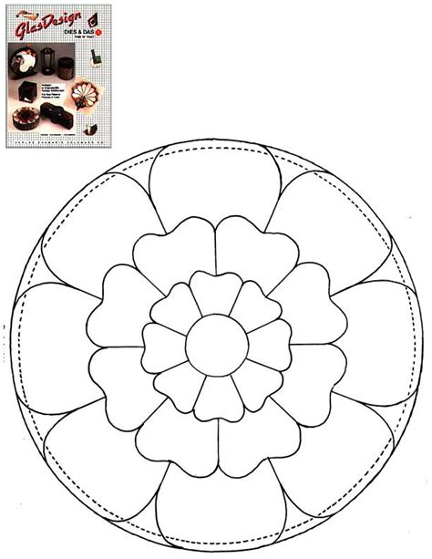 suncatcher coloring page stained glass patterns for free glass pattern 178