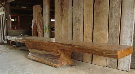 mobili giardino teak tavoli rustici in teak
