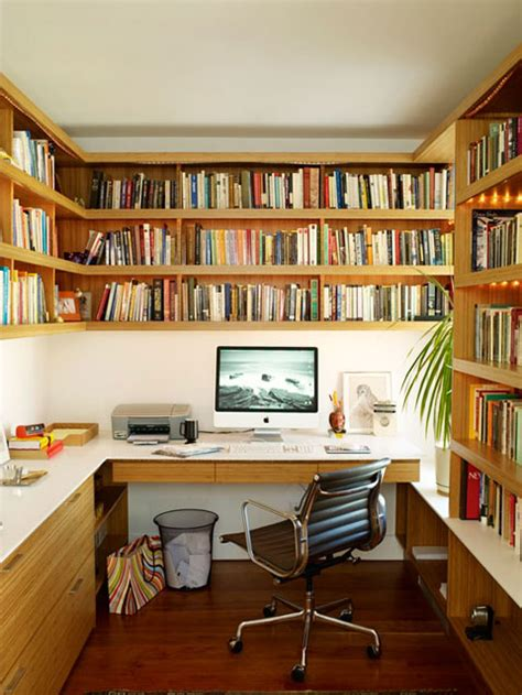 interior home office library ideas home office library apartment therapy s big book of small cool spaces