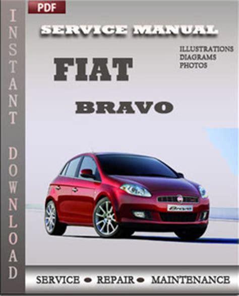 Fiat Bravo Service Repair Manual Repair Service Manual Pdf