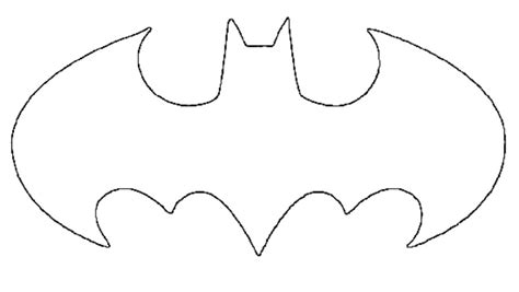new batman symbol stencil clipart best