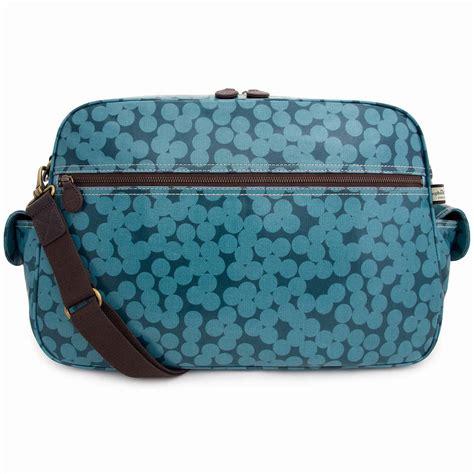 Change Your Spots With A Zebra Scarf Handbag blue spot baby changing bag by matt