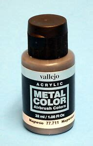 color of magnesium vallejo acrylic magnesium metal color 77 711 airbrush