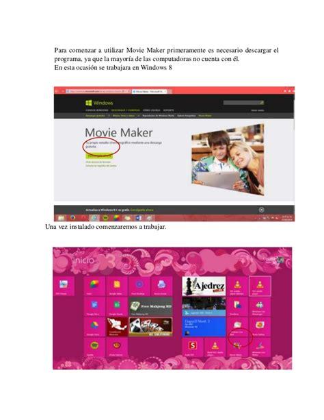 tutorial movie maker para windows 8 tutorial windows movie maker