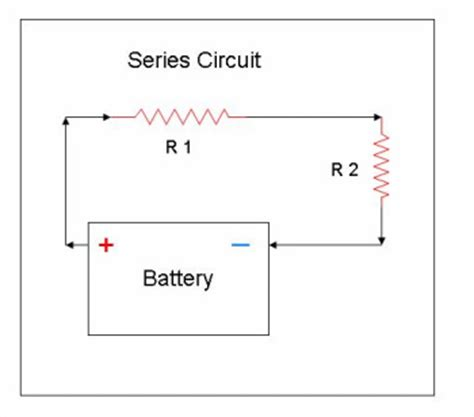 series resistors on data series and parallel circuits