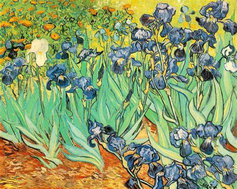 free wallpaper van gogh painting of vincent van gogh irises wallpapers and
