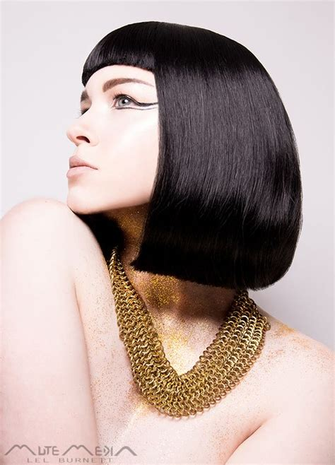 Modern Egyptian Hair | modern egyptian hair make up necklace ancient egypt