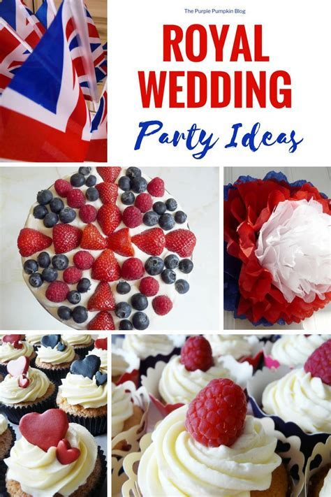 Royal Wedding Party Ideas / Prince Harry & Meghan Markle