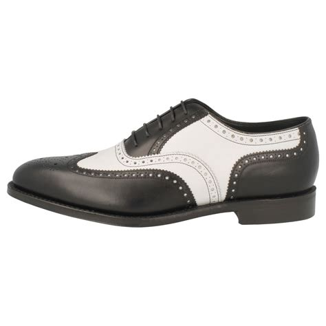 Handmade Dress Shoes - handmade two tone dress shoes black and white