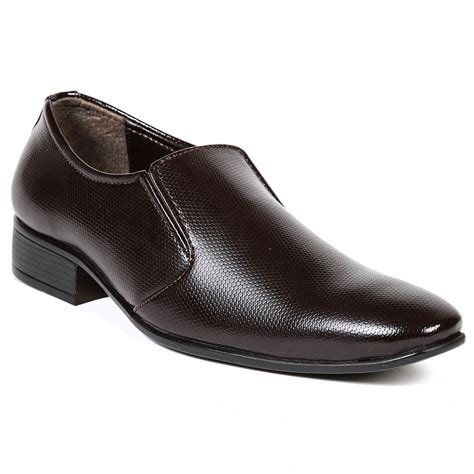 buy ten patent leather brown formal shoes ts234 at
