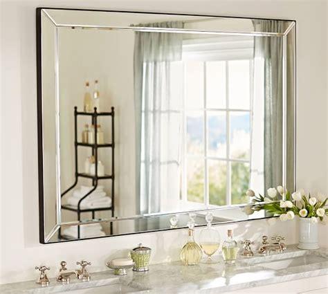 Bathroom Brilliant Beveled Bathroom Vanity Mirror And Wall Beveled Bathroom Vanity Mirror