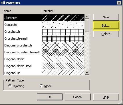 dot pattern for revit revit how to change the scale of a fill pattern