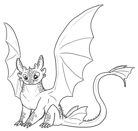 coloring pages of toothless dragon free toothless lineart by leafyful on deviantart 183 how to
