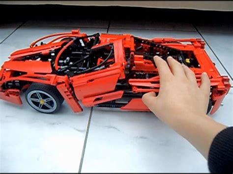 Lego Ferrari Enzo by Lego Racers 1 10 Ferrari Enzo 8653 Youtube
