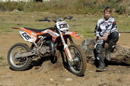 how to get into motocross racing up and coming motocross rider phelps lw mag