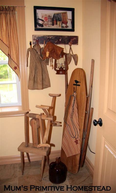 17 Best Images About Primitive Laundry Rooms On Pinterest Primitive Laundry Room Decor
