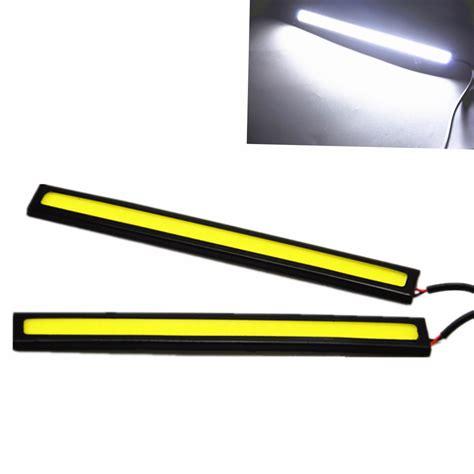Drl Led Cob 17cm 2pcs 17cm led cob drl daytime running light waterproof dc12v external led car styling car light