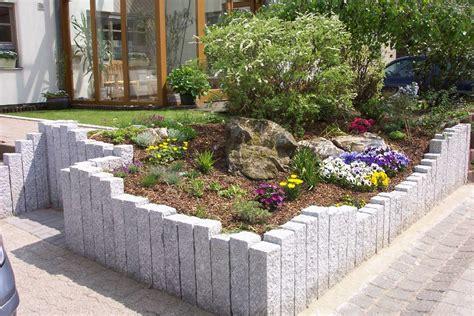 steingarten mit granit m 246 belideen