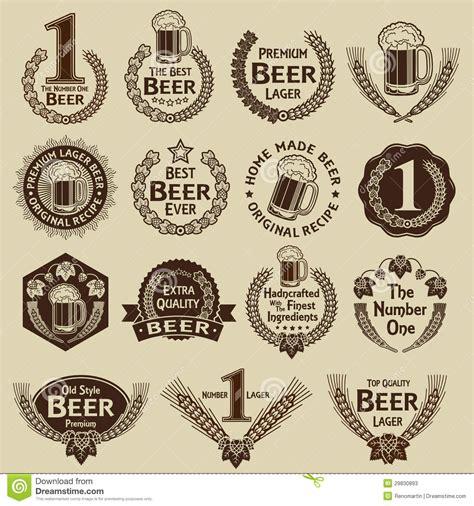 imagenes vintage marcas sellos y marcas de la cerveza de la colecci 243 n del vintage